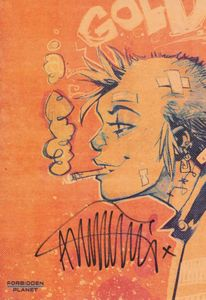 [Tank Girl: Gold (Signed Mini Print Edition) (Product Image)]