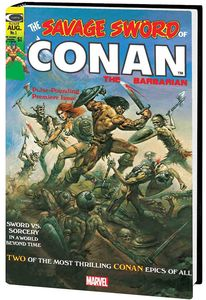 [The Savage Sword: Conan: Original Marvel Years: Omnibus: Volume 1 (Hardcover) (Product Image)]