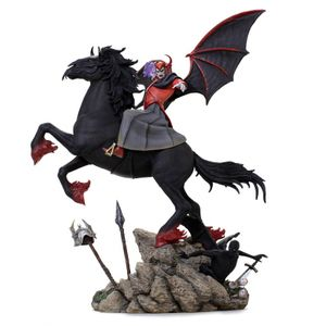 [Dungeons & Dragons: Deluxe Art Scale Statue: Venger With Nightmare (Product Image)]