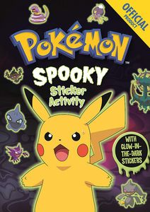 [Official Pokémon Spooky Sticker Book (Product Image)]