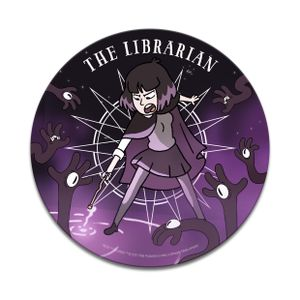 [Hilda: Coaster: The Librarian (Product Image)]