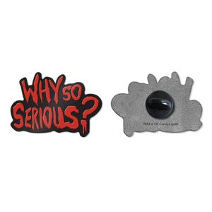[The Dark Knight: Enamel Pin Badge: Why So Serious? (Product Image)]