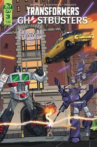 [Transformers/Ghostbusters #3 (Cover A Schoening) (Product Image)]