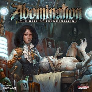 [Abomination: Board Game: The Heir Of Frankenstein (Product Image)]