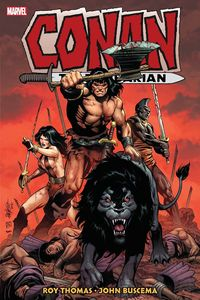 [Conan: The Barbarian: Original Marvel Years: Omnibus: Volume 4 (Hardcover) (Product Image)]