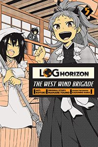 [Log Horizon: The West Wind Brigade: Volume 5 (Product Image)]
