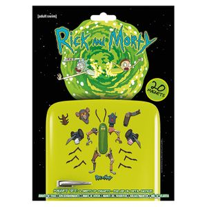 [Rick & Morty: Magnet Set: Weaponise The Pickle (Product Image)]