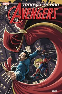[Marvel Action: Avengers (2020) #3 (Cover A Mapa) (Product Image)]