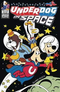 [The cover for Underdog: In Space #1 (Cover A Main)]