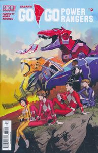 [Go Go Power Rangers #2 (Main & Mix) (Product Image)]