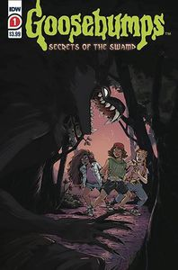 [Goosebumps: Secrets Of The Swamp #1 (2nd Printing) (Product Image)]