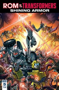 [Rom Vs Transformers: Shining Armor #5 (Cover A Milne) (Product Image)]