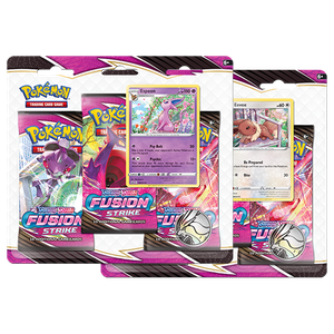 [Pokémon: Sword & Shield 8: Fusion Strike (3 Pack Booster) (Product Image)]