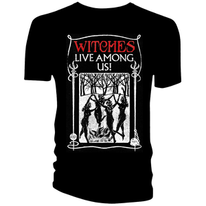 [Fantastic Beasts: T-Shirt: Witches Live Among Us (Product Image)]