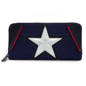 [Marvel: Captain America: Loungefly Zip Around Wallet: Cosplay (Product Image)]