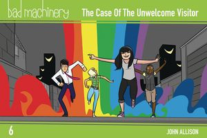 [Bad Machinery: Volume 6: The Case Of The Unwelcome Visitor (Pocket Edition) (Product Image)]