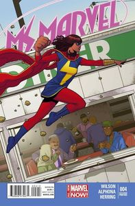 [Ms Marvel #4 (2nd Printing McKelvie Variant) (Product Image)]