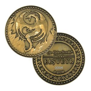 [Elder Scrolls: Limited Edition Elsweyr Coin (Product Image)]