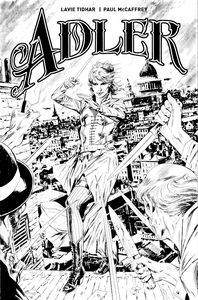 [Adler #1 (Cover D Black & White Guice) (Product Image)]