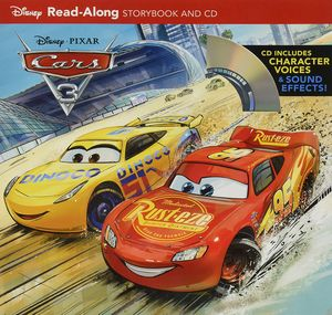 [Cars 3: Read-Along Storybook & CD (Product Image)]