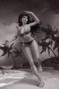 [Bettie Page #2 (Yoon Black & White Variant) (Product Image)]