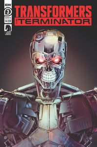 [Transformers Vs Terminator #3 (Cover B Griffith) (Product Image)]