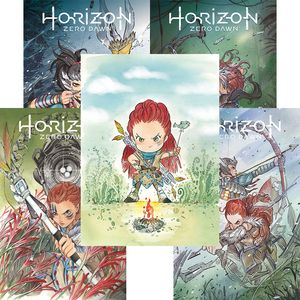 [Horizon Zero Dawn #1-4 (Peach Momoko Pack) (Product Image)]