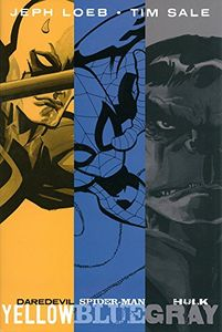 [Jeph Loeb &Tim Sale: Yellow, Blue & Gray (Hardcover) (Product Image)]