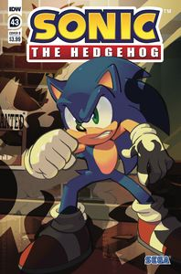 [Sonic The Hedgehog #43 (Cover B Matt Herms) (Product Image)]