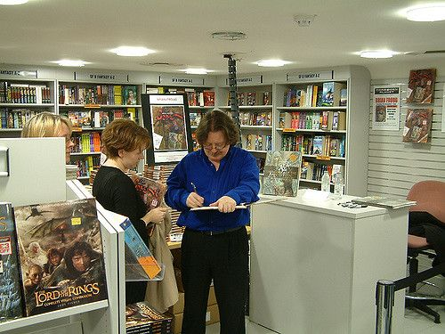 Brian Froud Signing