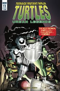 [Teenage Mutant Ninja Turtles: Urban Legends #11 (Cover A Fosco) (Product Image)]