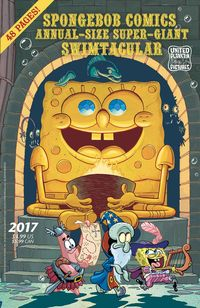 [The cover for SpongeBob Comics: Annual Giant Swimtacular #5]