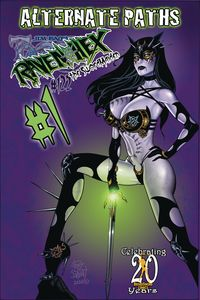 [Tarot: Witch Of The Black Rose #122 (Alt Paths Raven Sword) (Product Image)]