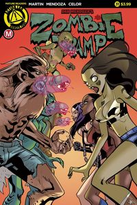 [The cover for Zombie Tramp Ongoing #31 (Cover A Celor)]
