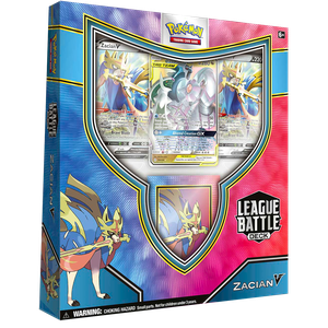 [Pokemon: Trading Card Game Battle Deck: Zacan V League (Product Image)]