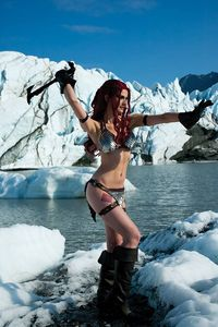 [Red Sonja #15 (Cosplay Virgin Variant) (Product Image)]