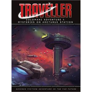 [Traveller: Solomani Adventure 1: Mysteries On Arcturus Station (Product Image)]