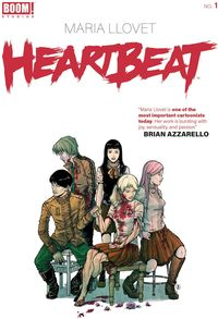 [The cover for Heartbeat #1 (Cover A Llovet)]