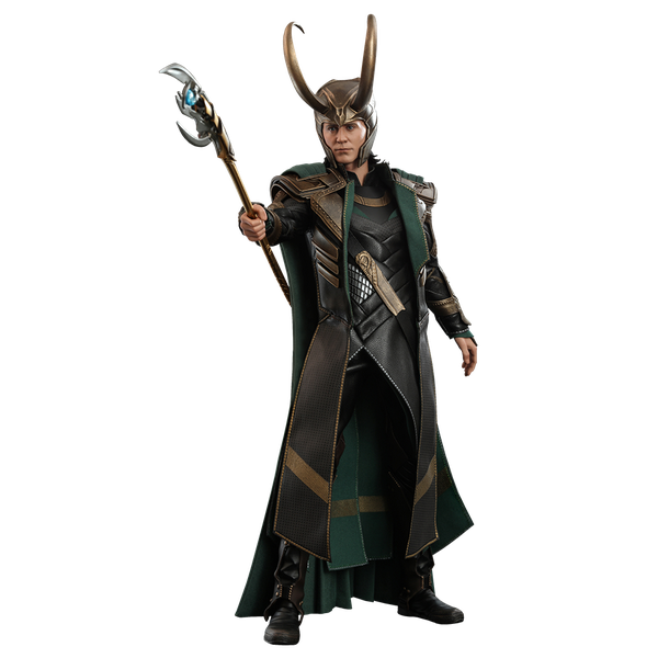 [The cover for Avengers: Endgame: Hot Toys Action Figure: Loki]