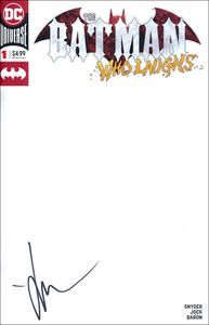 [Batman Who Laughs #1 (Blank Variant Signed Edition) (Product Image)]