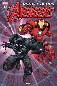 [Marvel Action: Avengers #9 (Sommariva) (Product Image)]