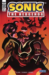 [Sonic The Hedgehog #25 (Fourdraine Variant) (Product Image)]