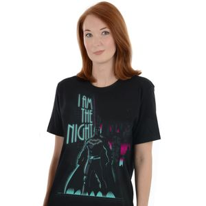 [DC: T-Shirt: Batman: I Am The Night (Glow In The Dark) (Product Image)]