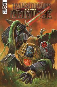 [Transformers: King Grimlock #2 (Cover A Horley) (Product Image)]