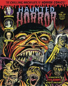 [Haunted Horror: Cry From The Coffin (Hardcover) (Product Image)]