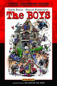 [Boys: Volume 4: We Gotta Go Now (Limited Signed Edition - Hardcover) (Product Image)]