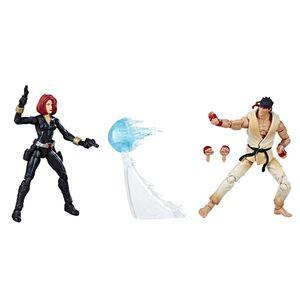 [Marvel Gamerverse: Marvel Vs Capcom Action Figure 2-Pack: Black Widow & Ryu (Product Image)]