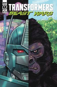 [Transformers: Beast Wars #1 (Nick Brokenshire Variant) (Product Image)]