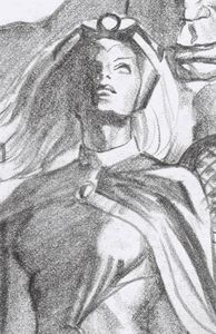 [Giant Size: X-Men: Storm #1 (Timeless Virgin Sketch Variant) (Product Image)]