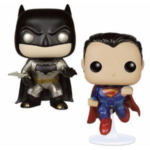 [DC: Batman v Superman: Pop! Vinyl Figures 2 Pack: Batman & Superman (Metallic Edition) (Product Image)]